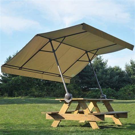 picnic table and umbrella picnic table umbrella outdoor patio pop up canopy folding