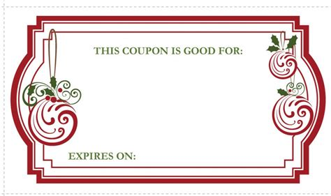 editable gift card template editable and printable coupon voucher template exle for