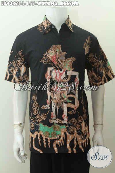 Kemeja Cowok Lengan Pendek Motif baju batik santai cowok kemeja lengan pendek tulis motif