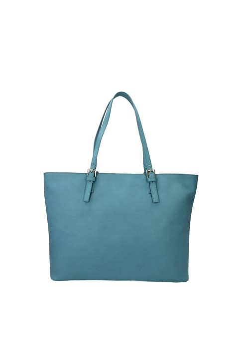 Guess Mini Leather Blue totes bags guess leather light blue hwkerrl5223cel
