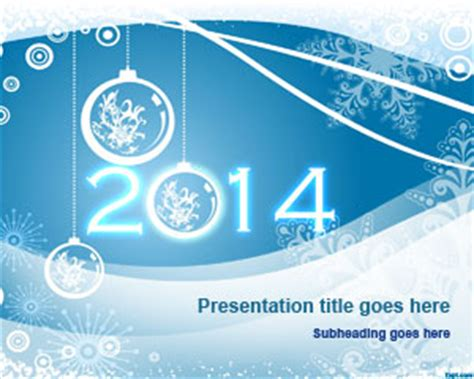 free powerpoint templates 2014 free happy new year 2014 powerpoint template free