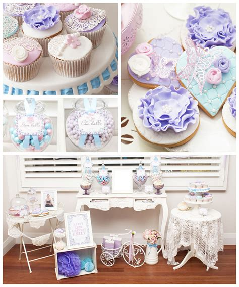 18th Birthday Giveaway Ideas - pastel french country themed birthday party with such gorgeous ideas via kara s party