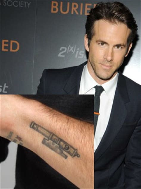 ryan reynolds tattoo the gallery for gt