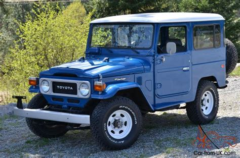 1981 Toyota Land Cruiser 1981 Toyota Land Cruiser Fj40 Land Cruiser