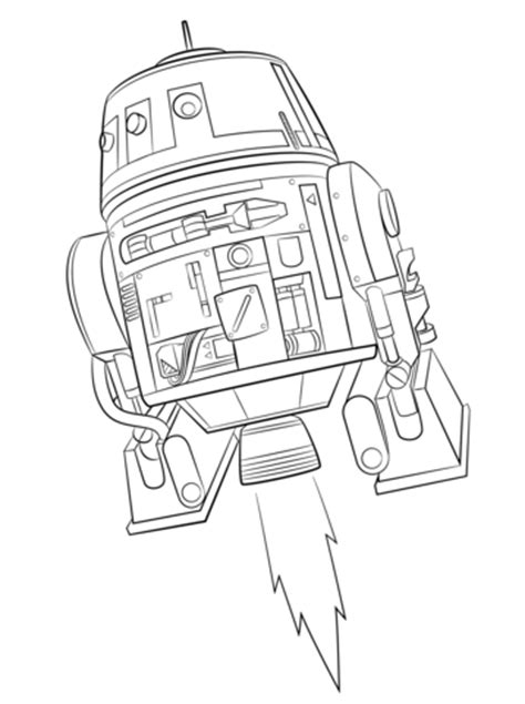 star wars ezra coloring page coloriage chopper dans star wars rebels coloriages 224