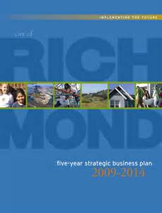 richmond ca official website five year strategic