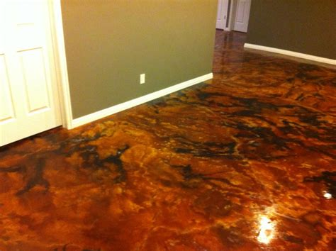 acid stained concrete floors houses flooring picture ideas