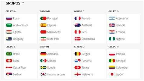 copa mundial 2018 horarios fixture completo de rusia 2018 conoce el d 237 a y la hora de
