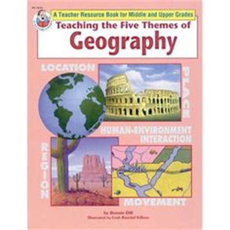 5 themes of geography graphic organizer social studies on pinterest geography social studies