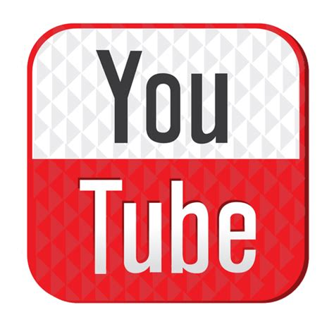 youtube rubber icon transparent png svg vector