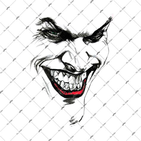 mrsticker cw joker face sticker feyizoglucom