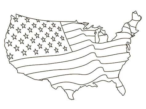 american coloring book free american flag coloring pages