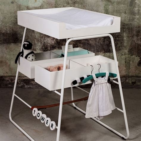 Baby Changing Table Mattress Tower White Baby Changing Table Mattress