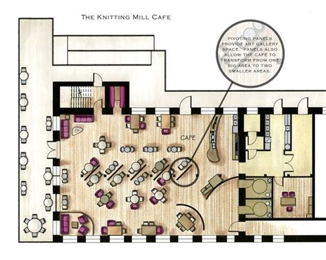 cafeteria floor plan cafe floor plans exles in color google search cafe