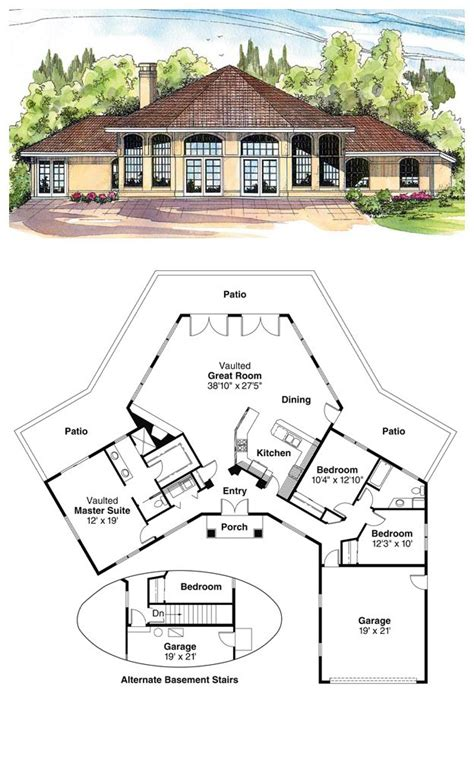 16 best octagon style house plans images on