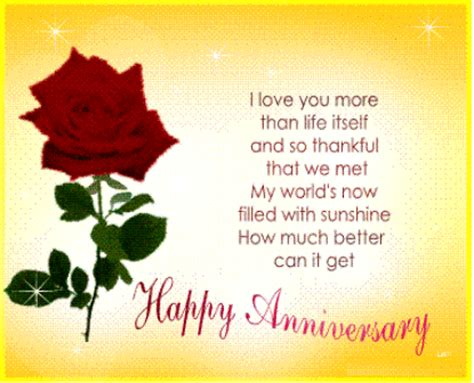 Wedding Anniversary Message by Wedding Anniversary Cards With Wishes Messages Top 10
