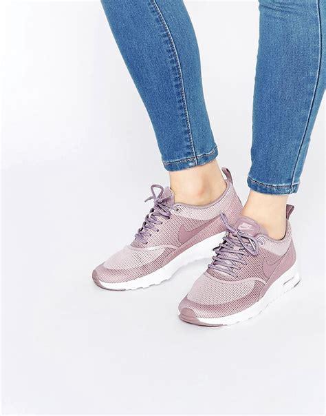 New Sepatu Nike Airmax White Hologram nike nike plum fog air max thea trainers at asos