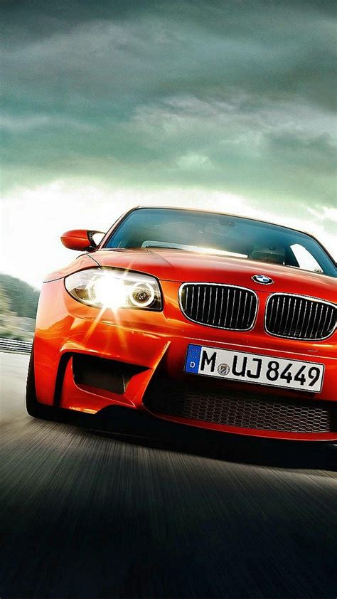 red bmw  speed iphone   hd wallpaper hd