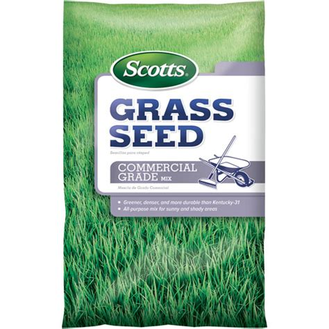 scotts grass seed commercial grade mix 33 14