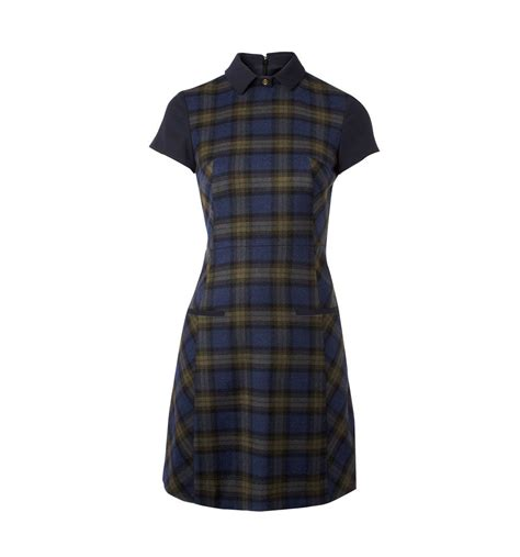 elm design clothes nw3 by hobbs elm dress in blue navy lyst