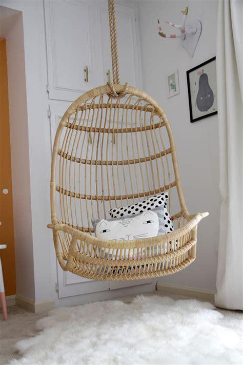 swing chair for room la la s room reveal