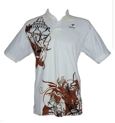 Baju Badminton Flypower bbwky02 putih gallerybadminton