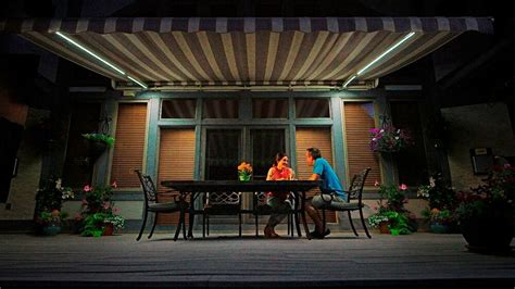 Patio Awning Lights by Sunsetter Awning Dimming Led Lights For Sunsetter