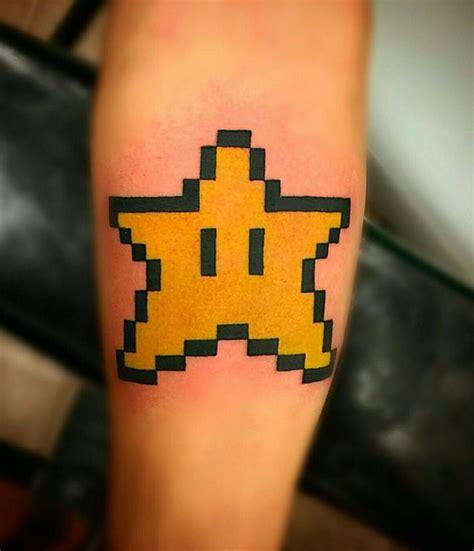 mario star tattoo 17 best ideas about mario on