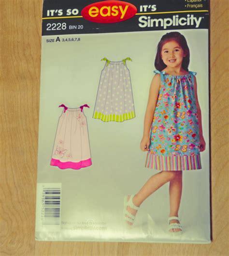 simple pattern for pillowcase dress children s pillowcase easy dress pattern by by