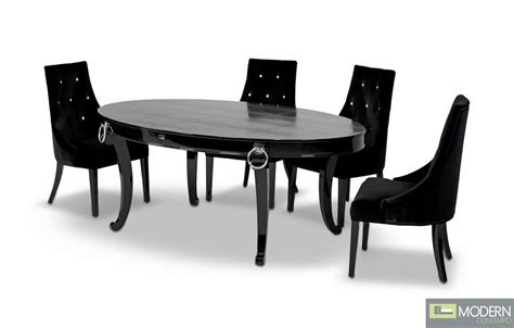 A X Bellagio Luxurious Crocodile Transitional Dining Table Bellagio Dining Table
