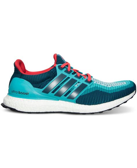 Adidas Boost For Mens Import lyst adidas s ultra boost running sneakers from finish line in green for