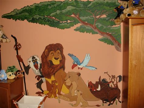 lion king home decor mural lion king tropical artwork toronto by