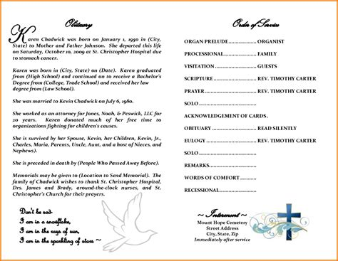 obituary writing template 28 images 25 obituary