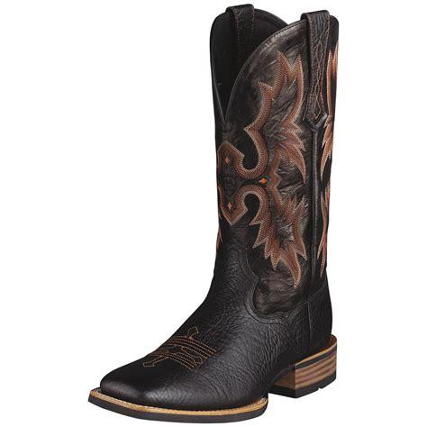 black cowboy boots s ariat 174 13 quot tombstone cowboy boots black 282376