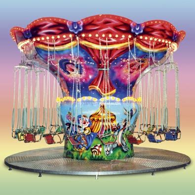 circus swing children s rides flying chairs sbf rides