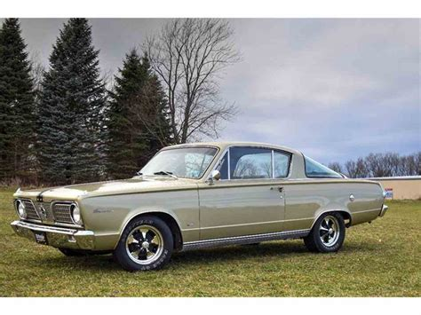 1966 plymouth barracuda for sale classiccars cc 944108