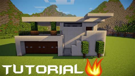 membuat fondasi rumah minecraft tutorial cara membuat rumah kecil modern 5
