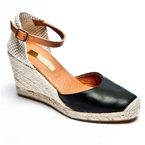 black wedge espadrilles wedge sandals espadrille co uk