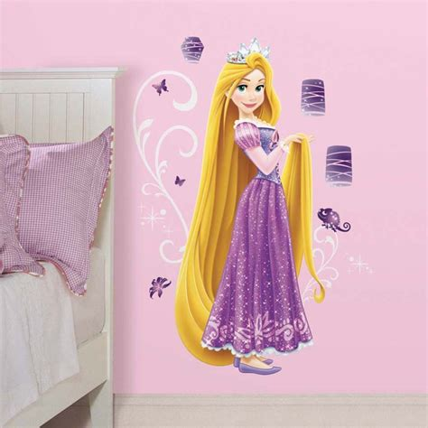 Disney Princess Castle Wall Stickers disney princesse 1 sticker g 233 ant 100 cm de raiponce