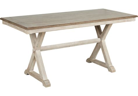 Counter Height Table by Nantucket White Counter Height Dining Table