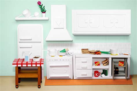 Furniture Papercraft - lobulo design graphic design illustration the list