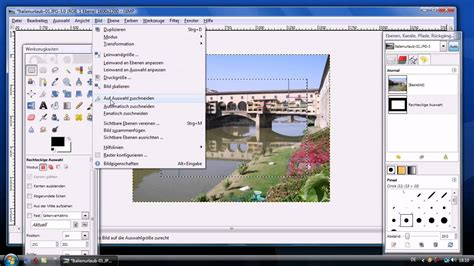 gimp tutorial deutsch anfänger gimp bildbearbeitung tutorial deutsch youtube