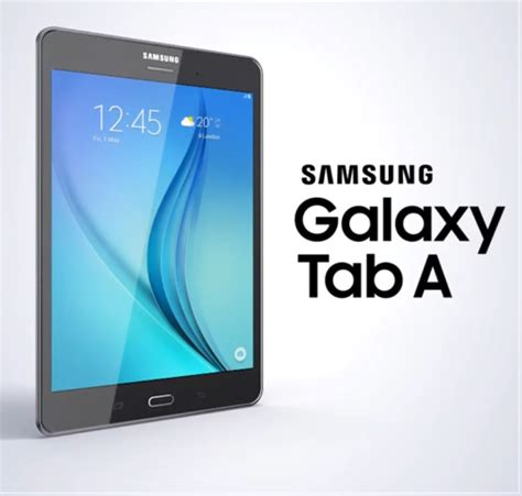 Samsung Tab A samsung secretly announces the galaxy tab a in russia