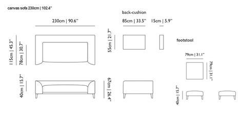 canvas layout sizes canvas sofa moooi in miami
