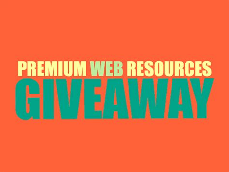 Free Giveaway Website - giveaway smashing free web resources from dealfuel fromdev