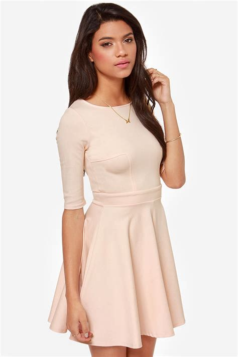 Exclusive Kode Ww Kuas Blush On lulus exclusive just a twirl blush pink dress 49 fashion shop by color at lulus
