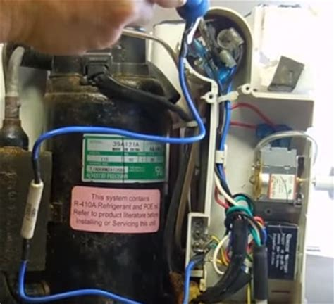hvac capacitor symptoms how to replace the capacitor in a window air conditioning unit hvac how to