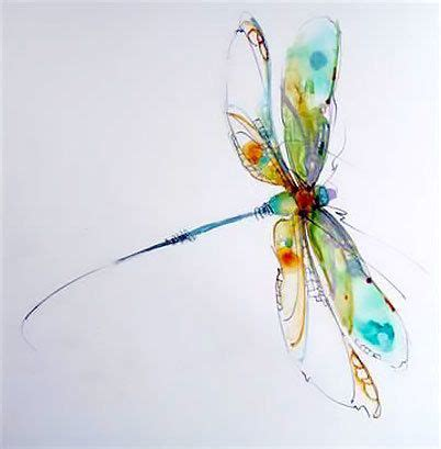 watercolor dragonfly tattoo watercolor dragonfly design