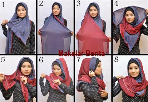 tutorial hijab segi empat nuri maulida cara cara memakai jilbab