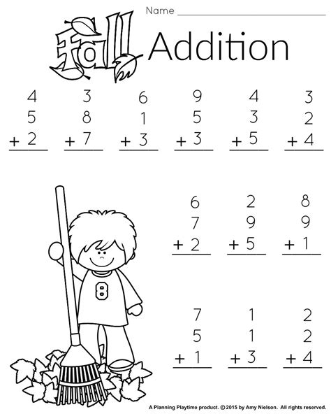printable free math worksheets 1st grade math and literacy worksheets with a freebie